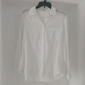 Gap Fitted boyfriend shirt  L
